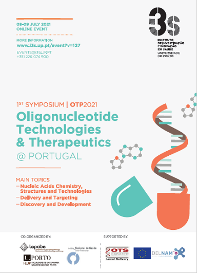 imagem do evento 32531st Symposium on Oligonucleotide Technologies and Therapeutics – 8-9 July 2021| ONLINE EVENT