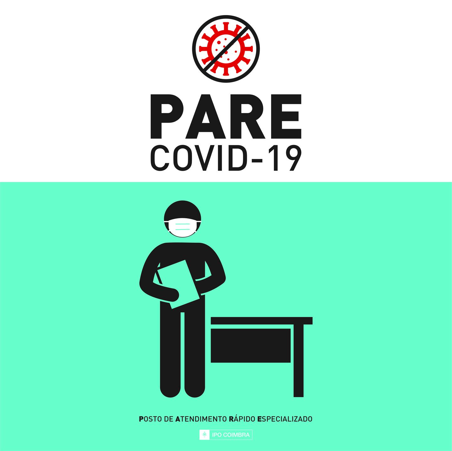 imagem do post do 3292Posto PARE COVID-19